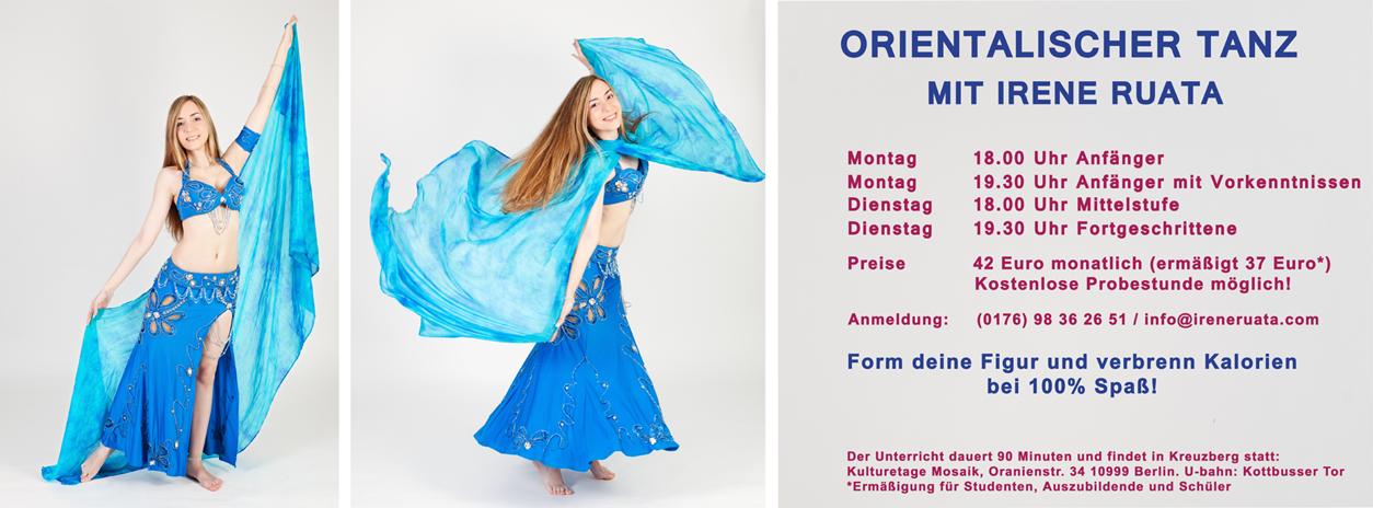Irene Ruata Dance Studio - Neuer Kursplan ab Februar 2015