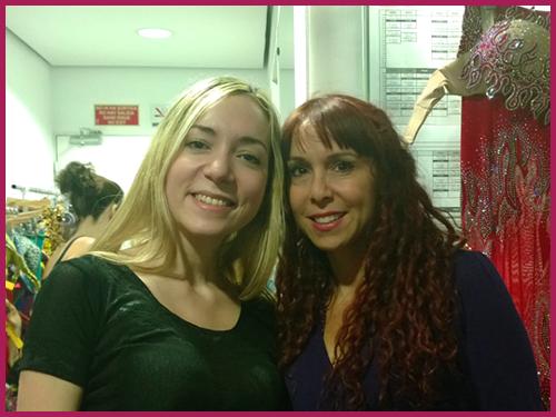 Irene Ruata beim Bauchtanz-Workshop mit Jillina