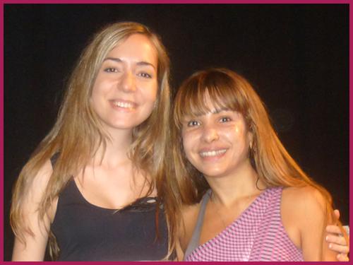 Irene Ruata beim Bauchtanz-Workshop mit Soraia Zaied